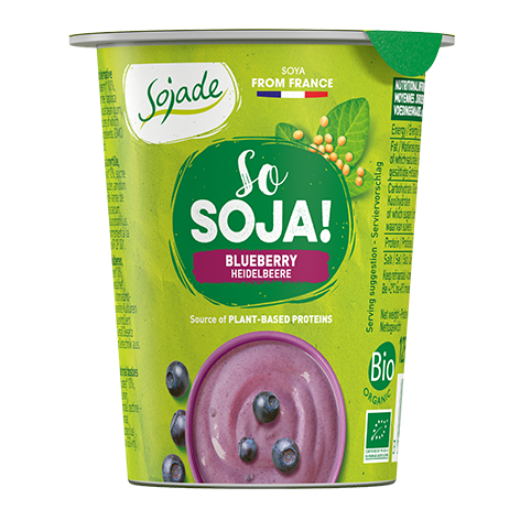 So Soja Heidelbeere 125g