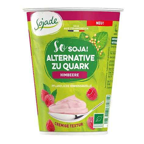 Alternative zu Quark Himbeere 400g